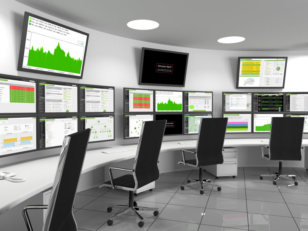 Data Centre Operations Management Room