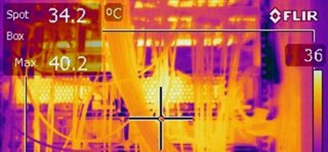 Troubleshooting with Data Centre Thermal Imaging
