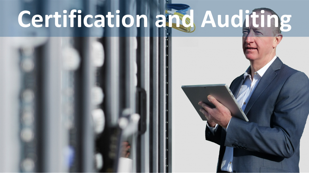 data centre auditing and data centre certification
