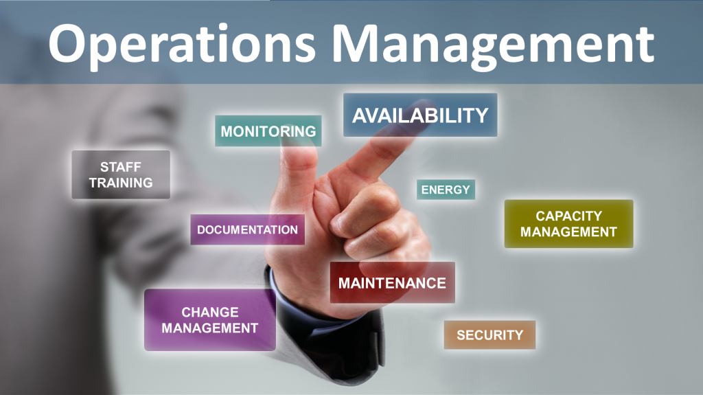 data centre operations management