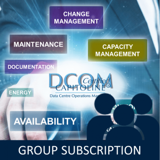 Data Centre Operations Management training Group Subscription