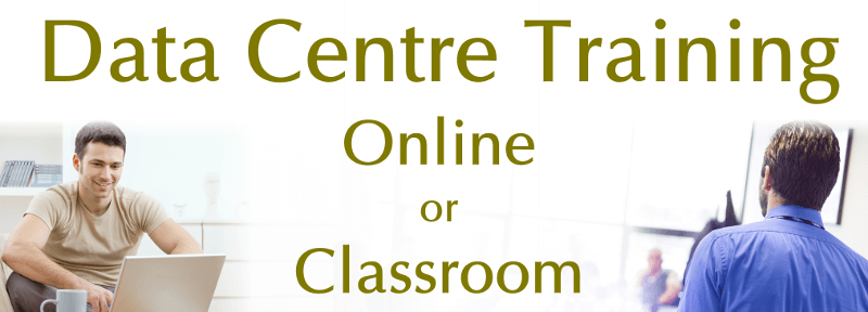 data centre training online and classroom