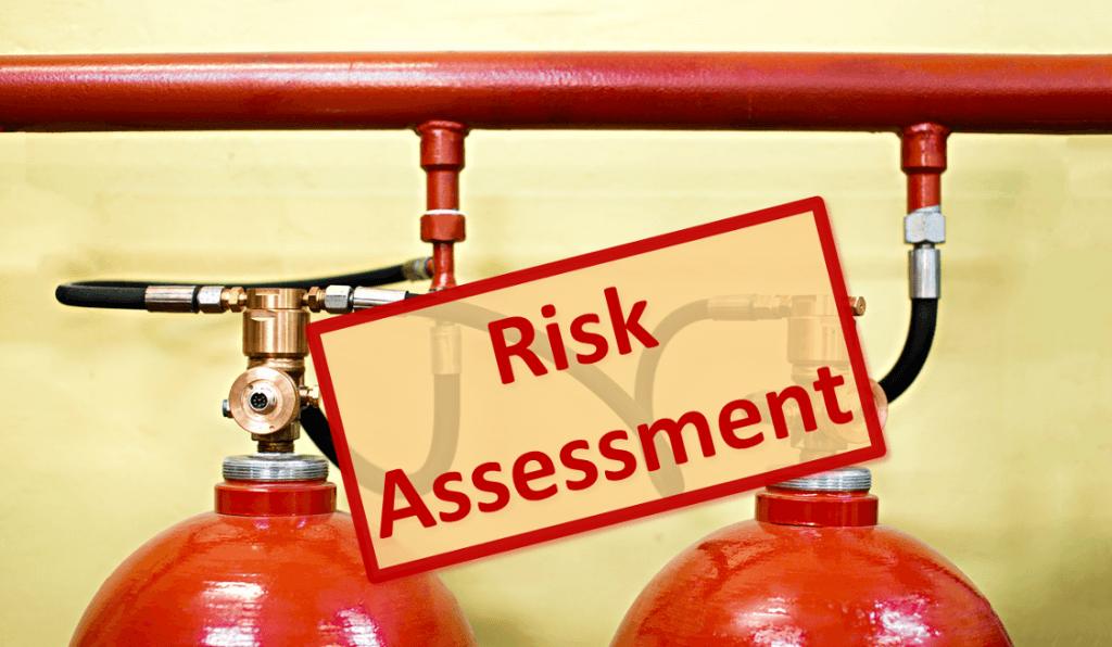 gas suppression risk assessment